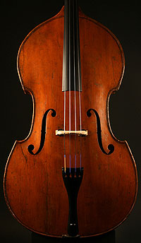 Jaquet-Gand gamba shaped upright bass