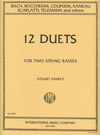 Upright Double Bass Duets