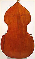 german upright bass back
