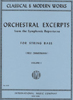 Orchestra Excerpts, Volume 1 (Zimmerman)