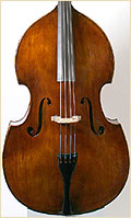 German upright flat back