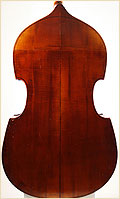 Schoenbach upright bass back