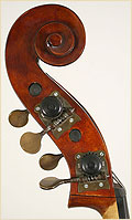 Schoenbach upright bass scroll