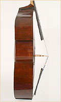 Austrian upright bass side