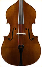 Wan-Bernadel upright bass, front view
