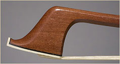Brazilwood, German upright bass bow
