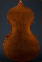Paul Bryant English Double Bass back