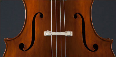 Paul Bryant English Double Bass f-holes