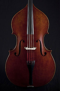 Thompson Hybrid Upright Bass, oil varnish