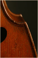 Jaquet-Gand upright bass raised edges
