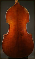 Leon Mortin upright bass back