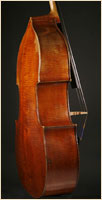 Leon Mortin upright bass side