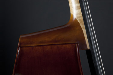 Plywood Upright Bass (neckjoint)