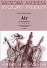 Bach, Air for Four Double Basses