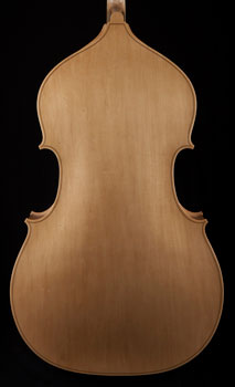 Thompson Plywood Upright Bass, Blonde