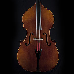 Wan-Bernadel upright bass, front